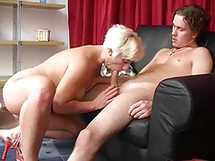 blonde mom fuck boy
